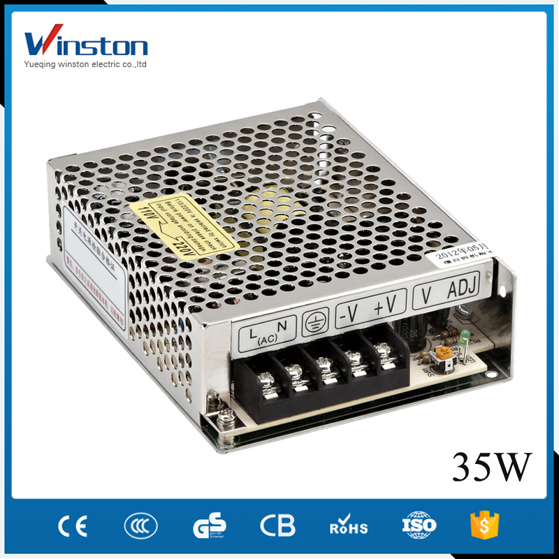 Design Linear S-35-5 35W 5V 7A Variable Frequency AC Power Supply