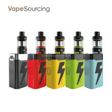Newest product e-cig Kanger Five 6 with five 6 tank 222w with Smoked or clear coloured glass sleeve from vapesourcing supplying.