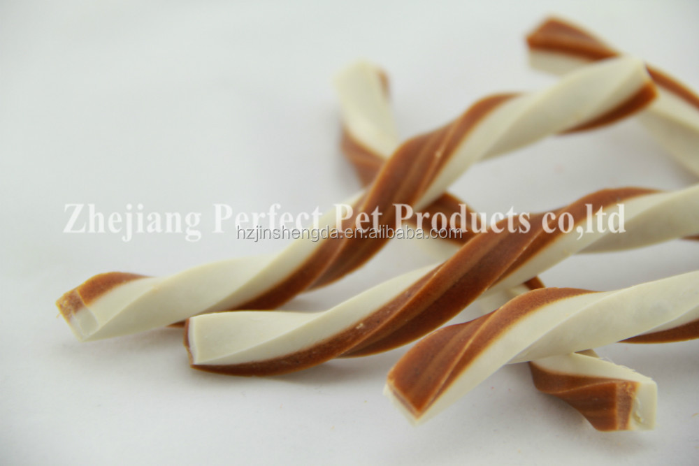 lamb tripe (dental dog treats two-tone chewing bone)