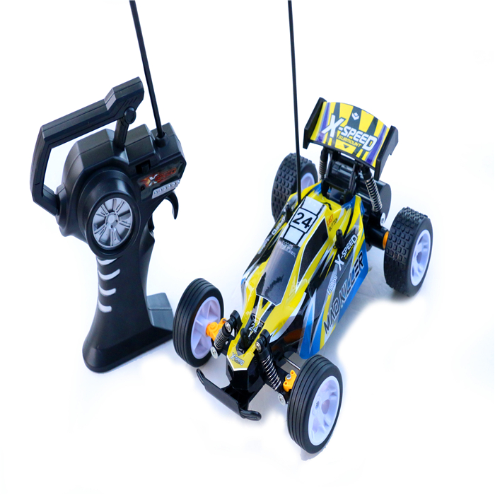 Hot cheap plastic propel remote control speed king rc car