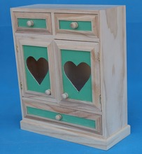 Low price customized shape wood cabinet small drawer