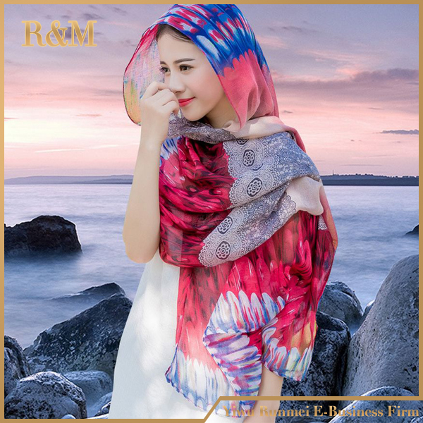 2016 best selling chiffon silk shawl,silk scarf hijab supplier