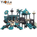High quality jungle design outdoor playground equipment bring cheer amusements to the kids