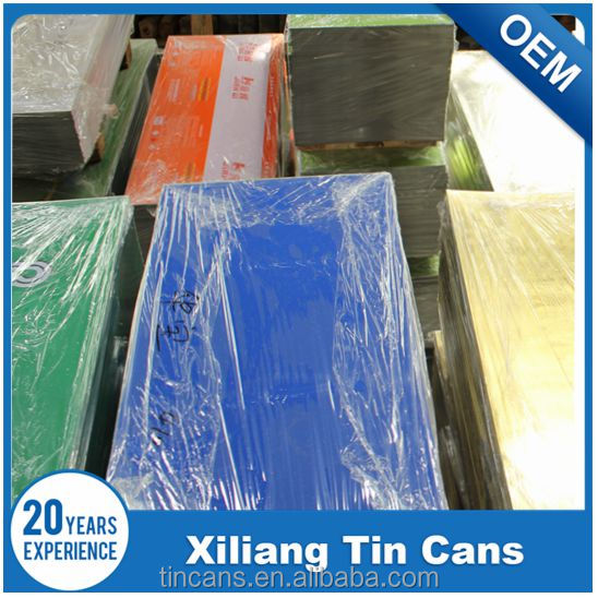 paint can printing tinplate, tinplate sheet