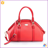 Colorful Cosmetic Hand PU Lady leather bag,genuine leather bag ladies,women's leather bag