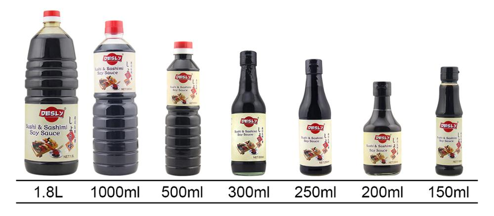 Sushi Sashimi Soy Sauce Japanese products Soy Sauces 1L/1000ml