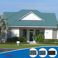 2016 galvanized roofing sheet / butterfly roof tile / monier villa roof tile