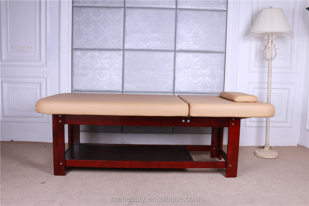 Ceragem price korea beauty salon bed wooden massage bed