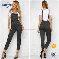 2016 High Quality Women's Fashion pictures of Women Suspender Pants Wearing Suits