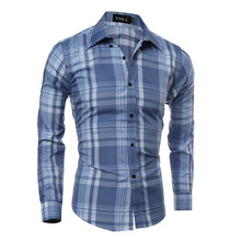 Wholesale mens buttons shirts casual brand name men slim fit dress shirts