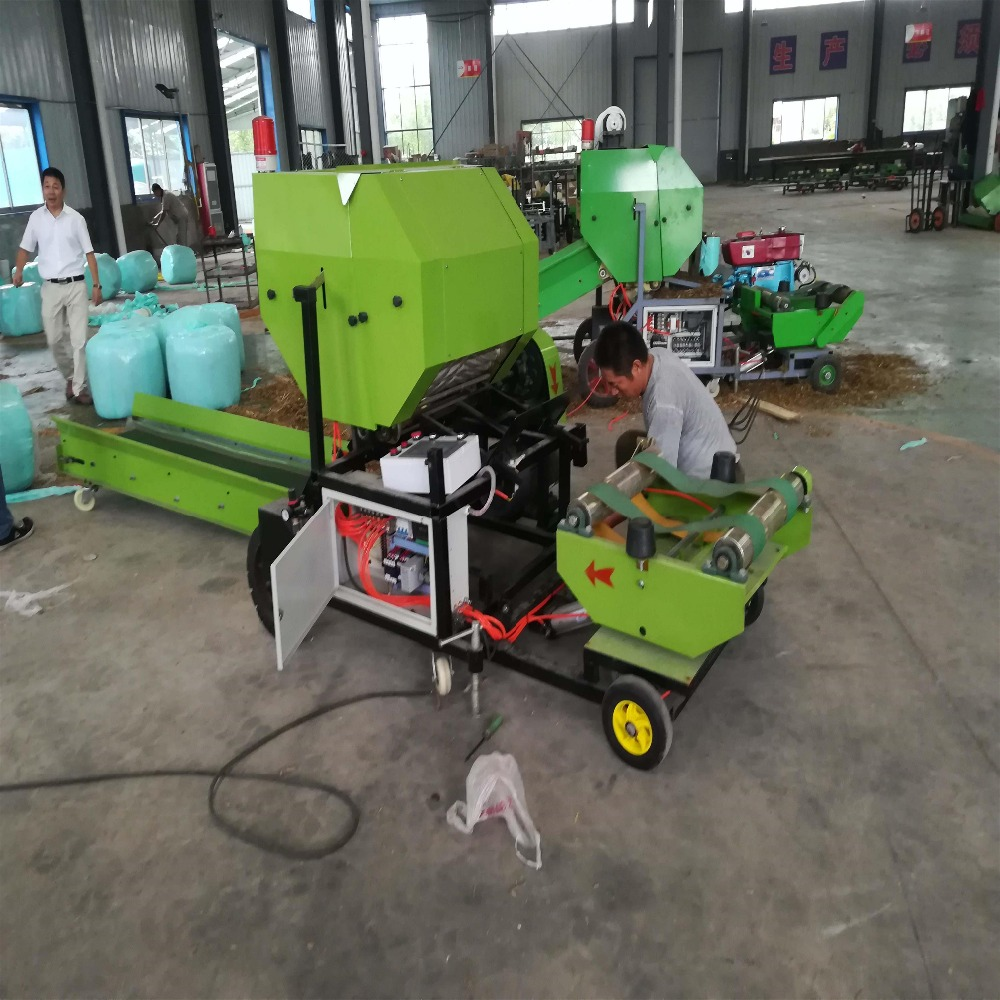 New condition straw baler silage bale making corn silage baler and wrapper for sale