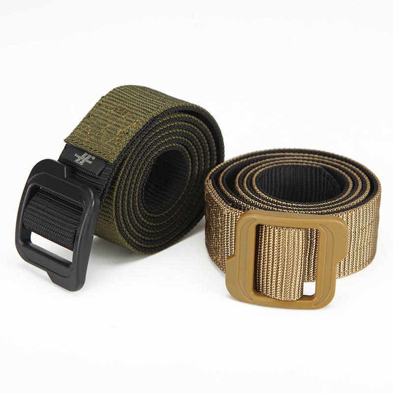 Manufacturer of cash supply army fan belt <strong>buckle</strong> on the word and tactics of high quality double belt camouflage bag
