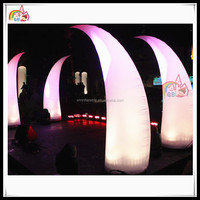 Most Popular Club Light Decoration Inflatable LED Light Antlers Ivory Decoration
