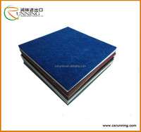 Polyester material recycled pet felt