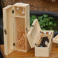 New design high quality wooden box for wine