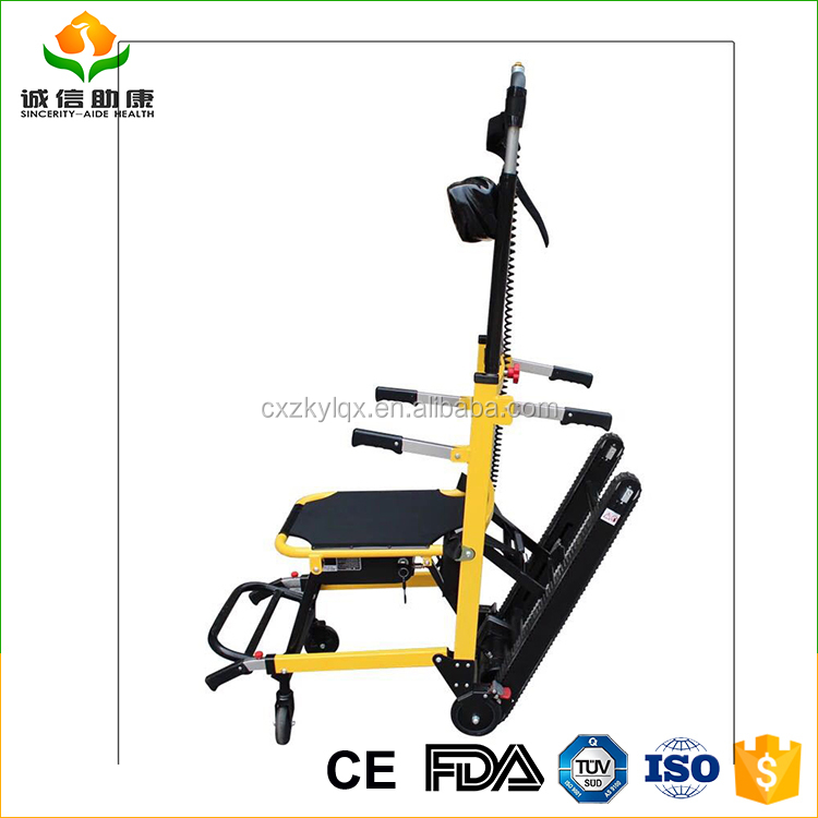 New Style strong and durable easy ladder without difficult electric stair climbing wheelchair