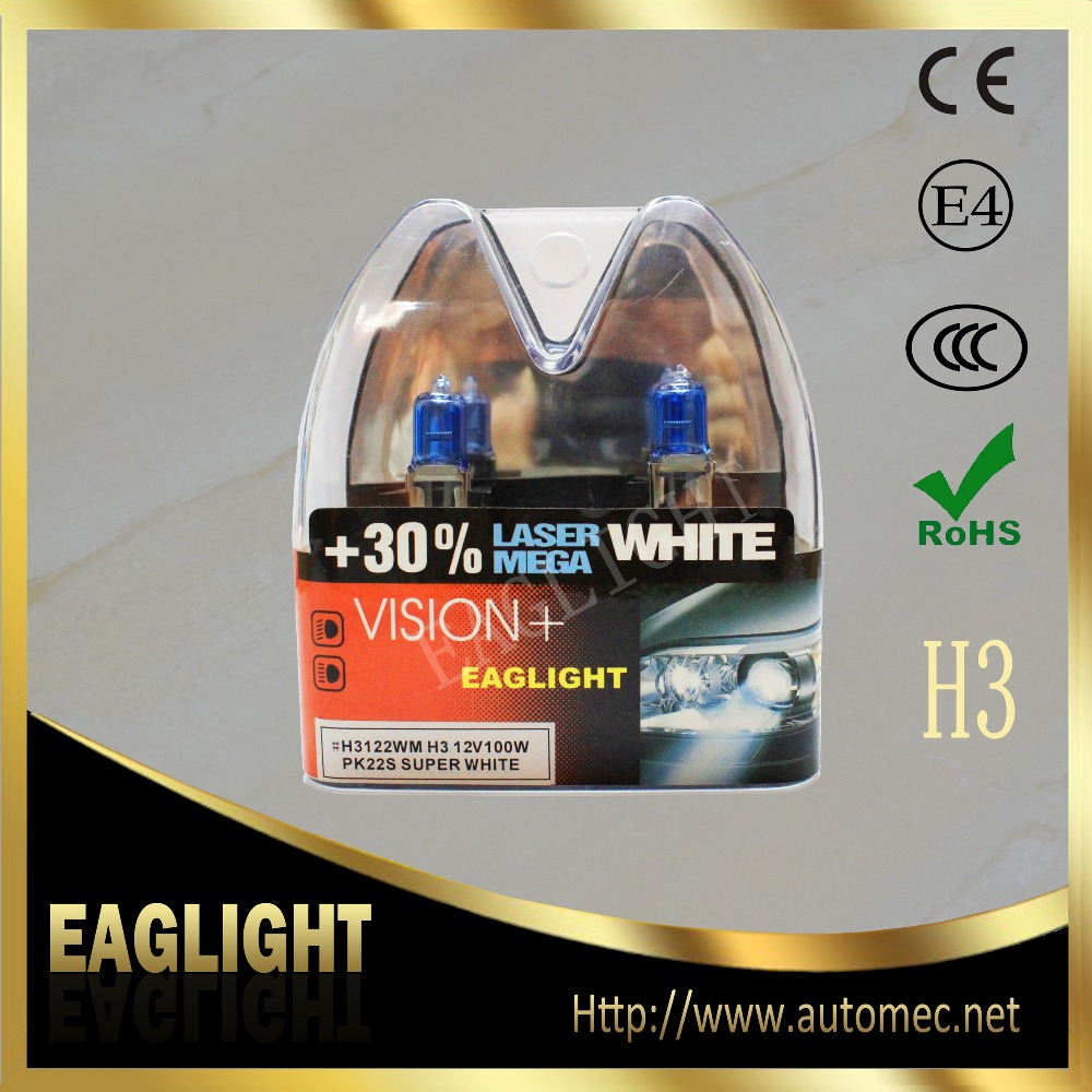 M Twin box 2x H3 12V 55W Blue halogen fog light bulb