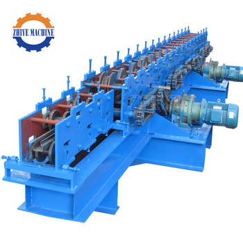 China Supplier Supermarket Storage Rack Upright Shelf Frame Profile Roll Forming Machine