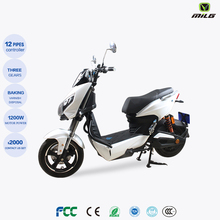 Electric Scooter 1200W Electric Street Bike Motorcycle up to 28 mph (45km/h)