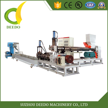 Easy Operation PP PE plastic recycling pelletizier granulator machine