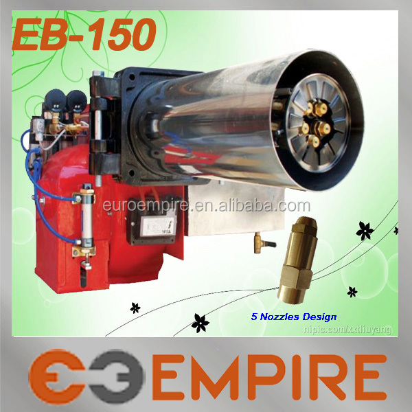 EB-150 New product alibaba china supplier CE booth burner /baltur diesel burner/ waste oil burner