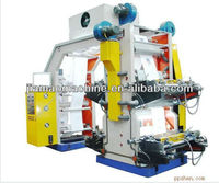 4 colors high speed ceramic rollers roll to roll printing machine,/plastic film Letterpress Printing Machine,