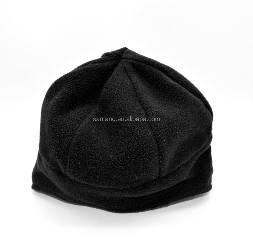 CE Certified Polar Fleece Heated Man Hat Operated by Rechargeable Lithium Battery