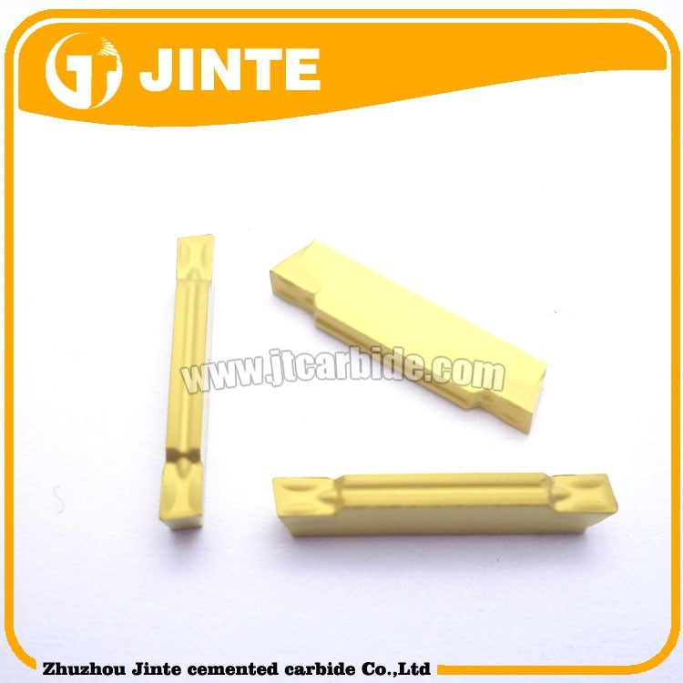 high quality lathe tool MGMN200 grooving/parting inserts with CVD coating