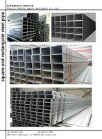 2015 new welded/galvanized black steel pipe used in construction with competitive price
