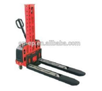 EP China hot sale self loading semi electric stacker high quality tool