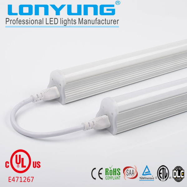 Chinese led aquarium light UL DLC t8 led tube light 18w integrated