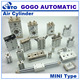 Pneumatic valve breathing air cylinder