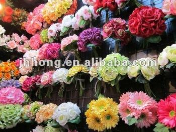Bouquet Artificial Wedding Flower Wholesale Buy Artificial Flowers