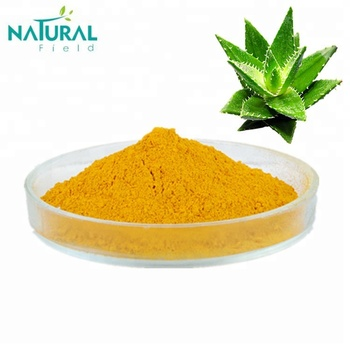Pure Aloe Vera Extract Powder Rhein 98% by HPLC