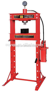 hydraulic workshop press,shop press with CE