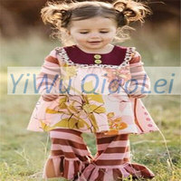 Teenager clothing fall kids clothes uk children clothing 2016 flower dresses