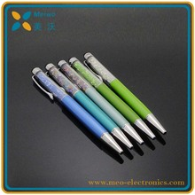 High Sensitive Compacitive Plastic Stylus Touch Screen Crystal Pen for Promotion
