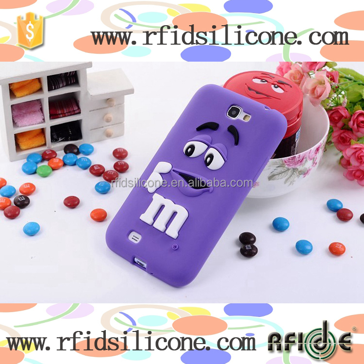 M beans silicone phone case for HUAWEI P7