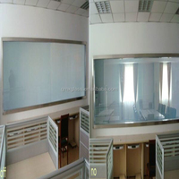 self-adhesive smart tint film,electric privacy colored switchable glass film,pdlc smart film switchable