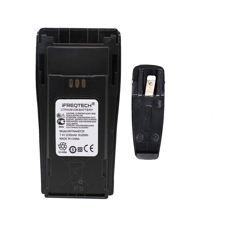 NNTN4497 PMNN4254 2250mAh Li-ion Battery for MOTOROLA Radio CP040 CP140 DP1400 CP160 CP180 DEP450 CP200 CP380 EP450 PR400 GP3688