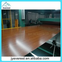 commercial or structural long life time wood grain colour coated steel coil for roof tile use
