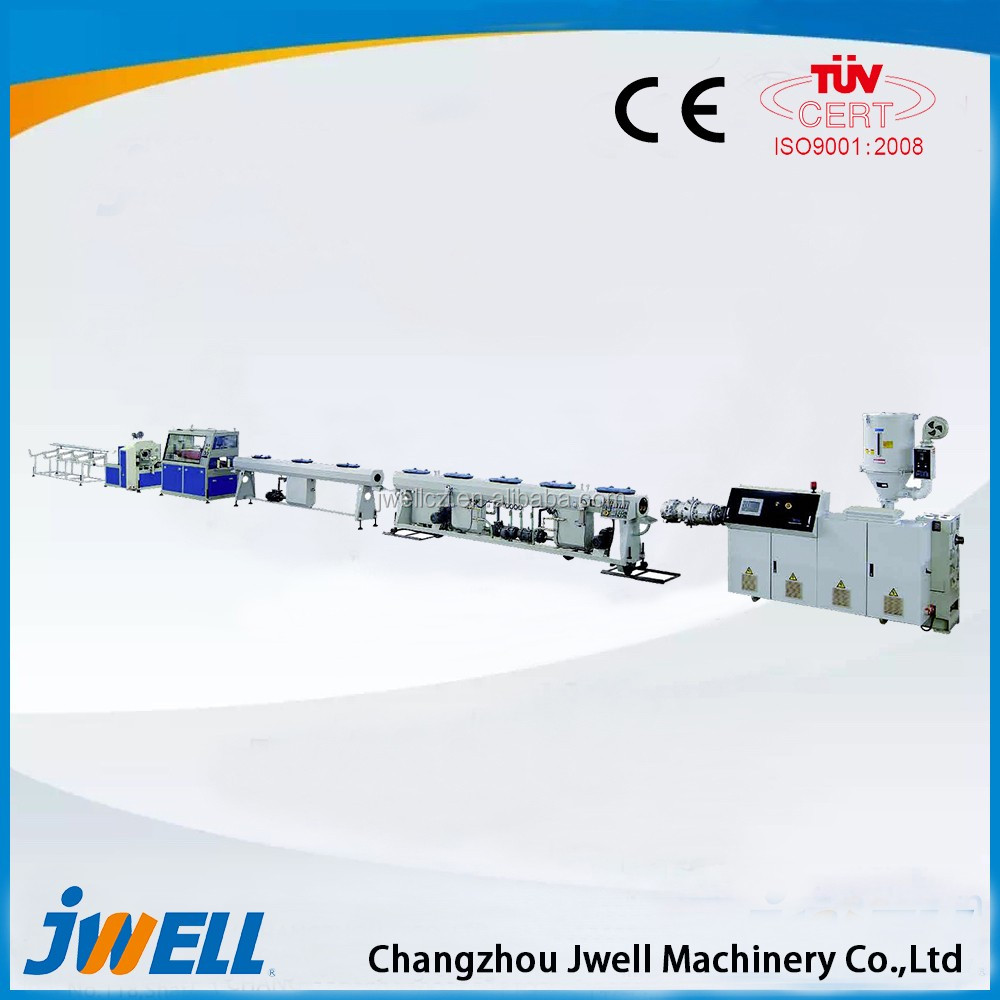 Jwell Double Wall Corrugated Pipe Plastic Recycling Extruder Machine