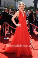 Celebrity Red Chiffon Prom Evening Dress 2012 Creative Arts Emmy Awards