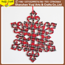 Promotional Xmas christmas tree snowflakes hanging ornaments for home decoration