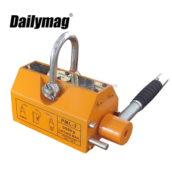 Permanent 600kg lifting magnet/magnetic lifter 5 ton for lifting/ handing sheets steel