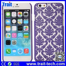 Retro Royal Court Flowers Pattern Hard Case for iPhone 6 4.7 inch ,Hard Plastic Case for iPhone 6 4.7 inch