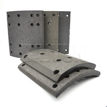 Heavy Duty Truck Howo Parts Drum Brake Lining