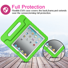 Children Proof Durable EVA hard plastic case for ipad2 with stand