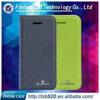 LZB high quality flip cover pu leather cell phone cases for iphone 5 5s
