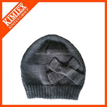 Jacquard acrylic knitted winter children's hats
